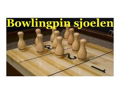 Bowlingpin sjoelen